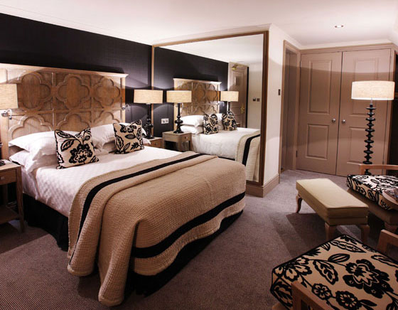 A bedroom at The Bloomsbury Hotel
