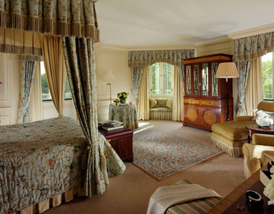 A suite at The Dorchester