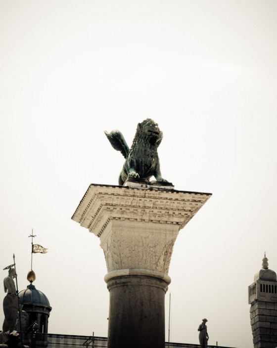 The Guardian Lion Of Venice