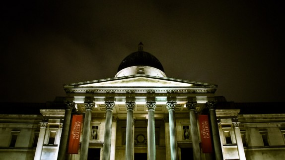 National-Gallery-London-at-Night